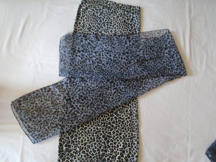 Haljine - Beograd: Top tunika/haljina animal print, ima elastina + poklon tanana ešarpa u istom fazonu