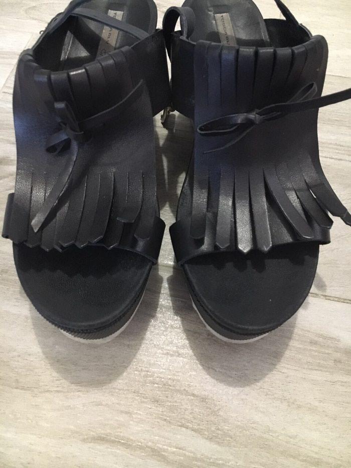 Kozne sandale br 39 NOVO. Photo 1