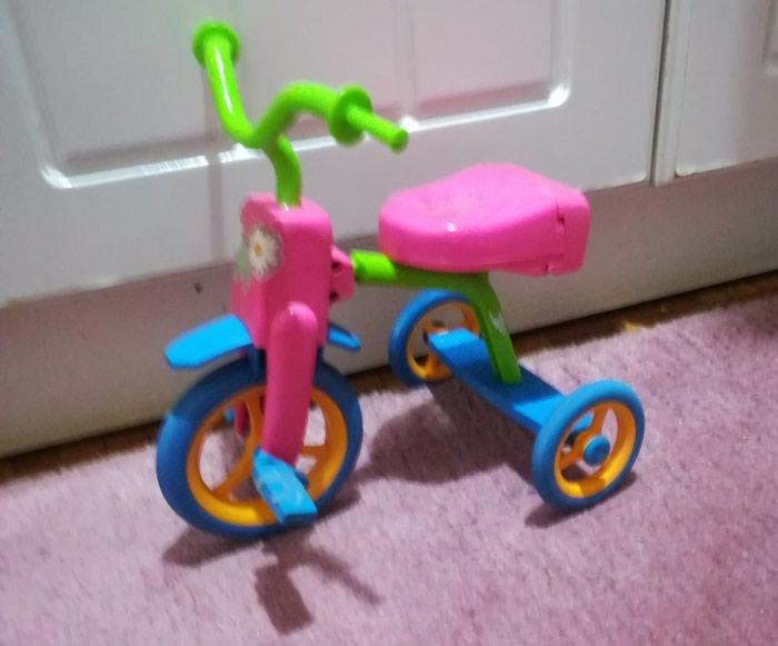 Prelepa lutka na. biciklu očuvana. Photo 2