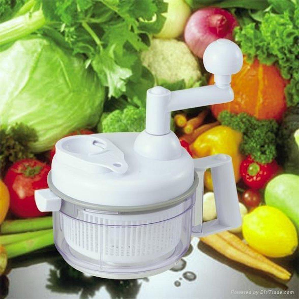 Быстрый измельчитель - это уникальный ручной кухонный комбайн, благодаря которому электрический кухонный комбайн стоит в тени