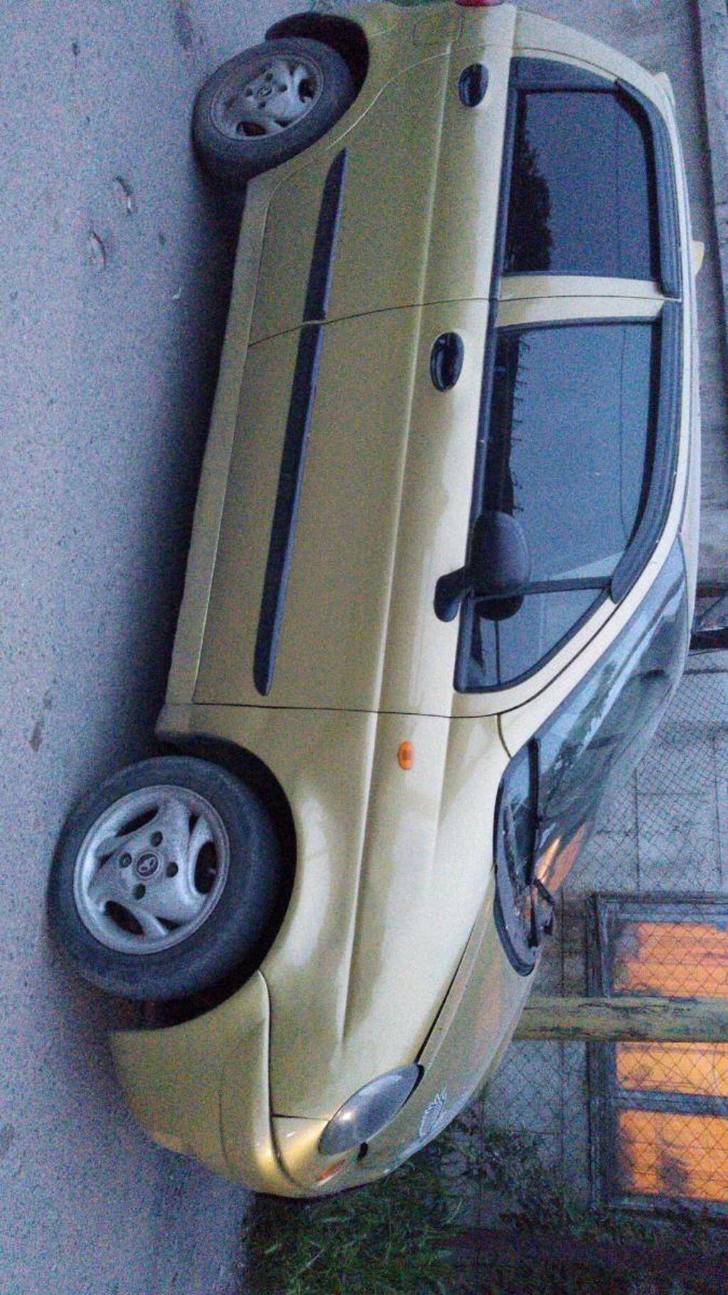 Daewoo Matiz 0.8 л