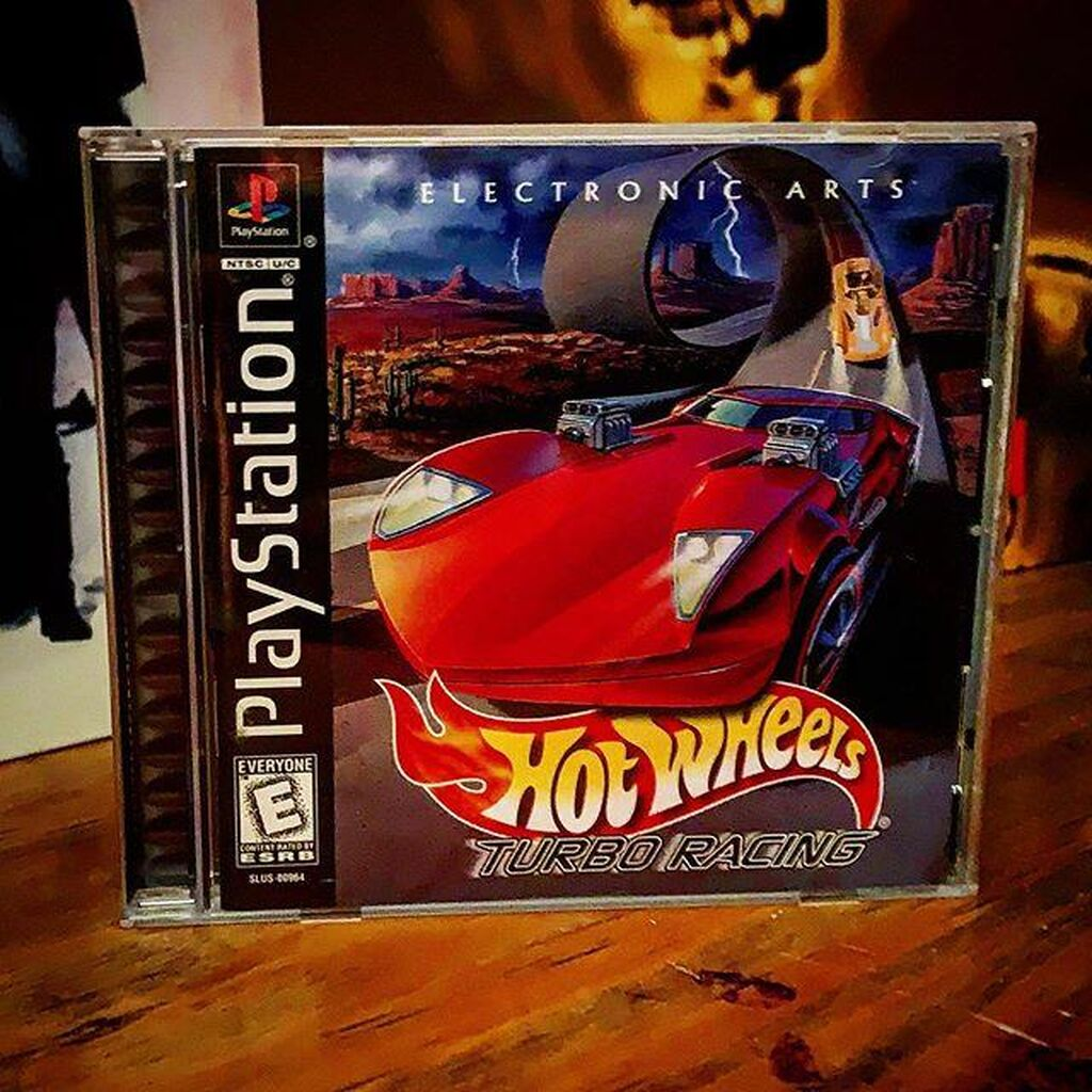 TURBO HOT WHEELS FOR PLAYSTATION