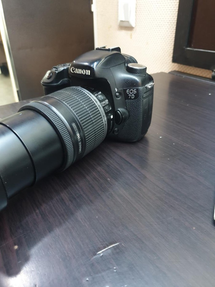 Canon 7d. Photo 1