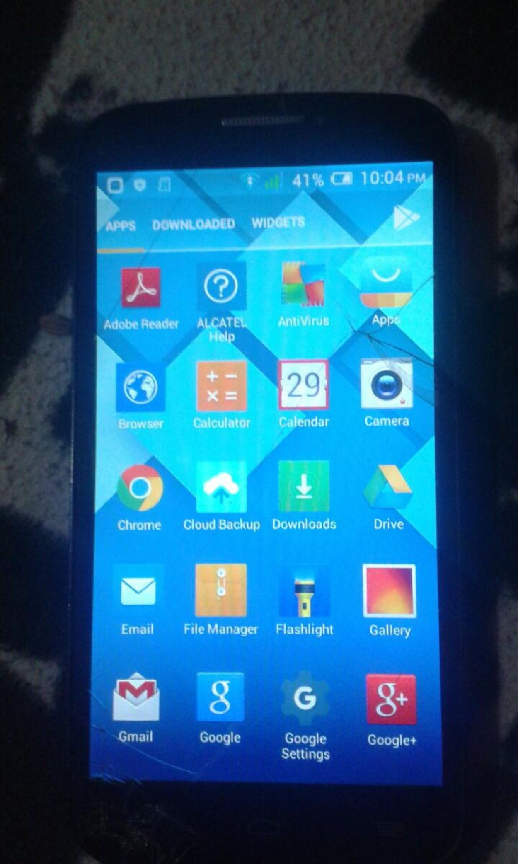 ALCATEL ONE TOUCH 1200DIN