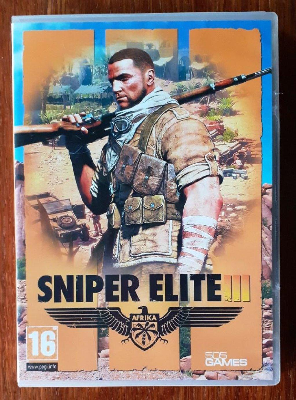 Игра для ПК Sniper Elite 3. Оригинал, была куплена в Москве