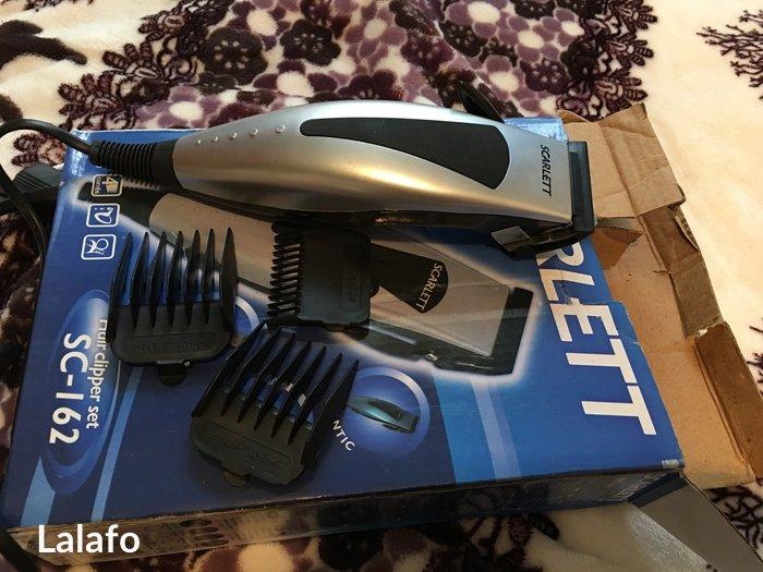 Продам машинку scarlett для стрижки волос новая  в Кант