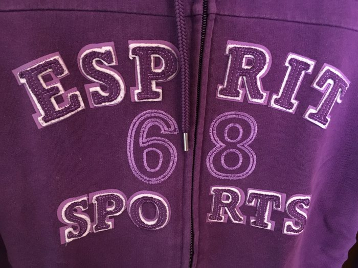 Esprit sports jacket violet size 38 in perfect condition. Photo 5