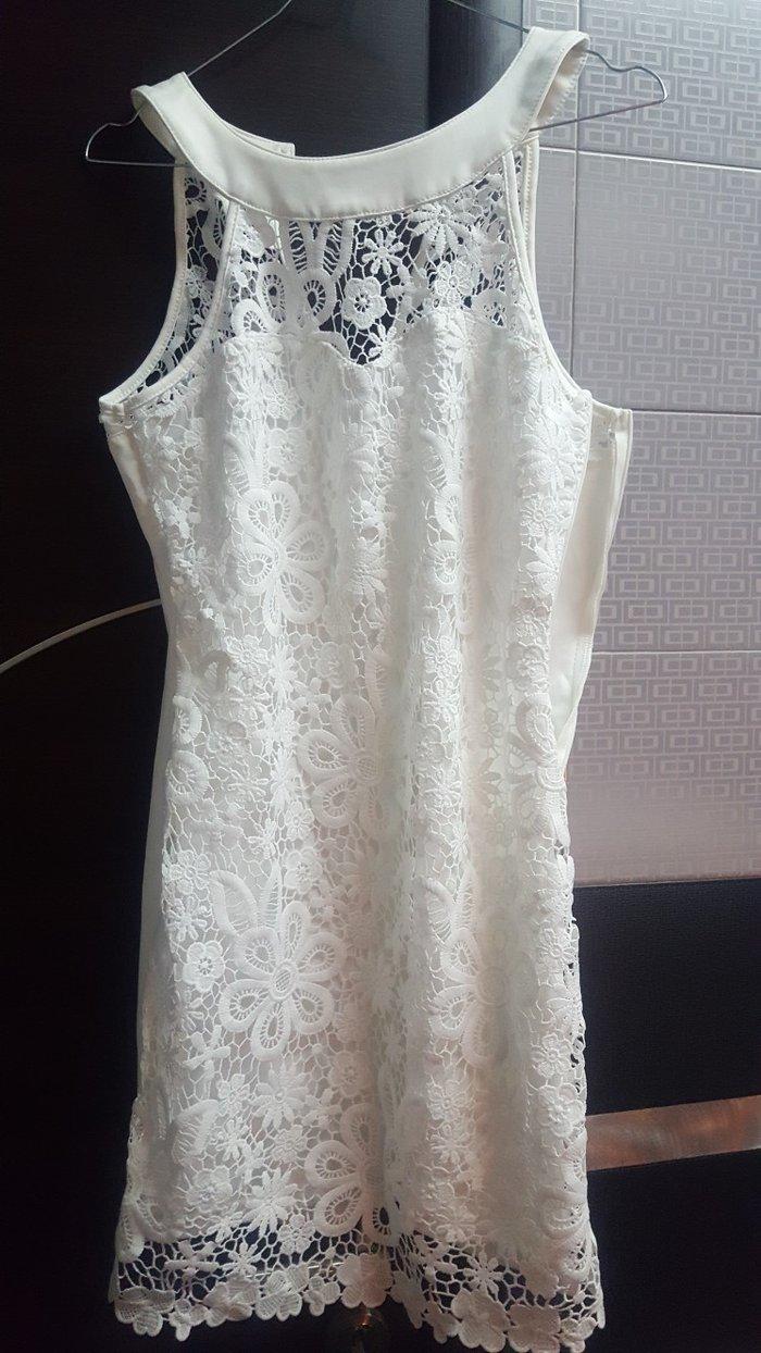 δαντελενιο φορεμα LUC & CE ΑΞΙΑΣ 75 ΕΥΡΩ ...στενη γραμμη...μεχρι 63 κι σε Τρίκαλα