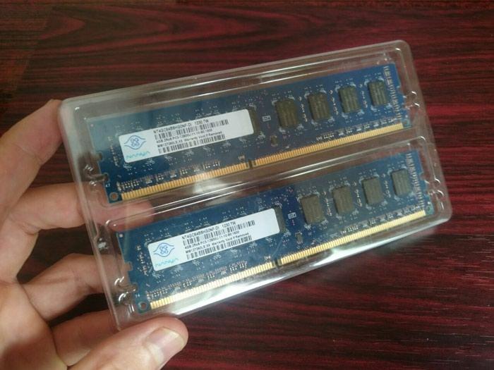 Оперативная память 8Gb Kit 2 X 4Gb DDR3 1600Mhz PC3-12800 в Душанбе