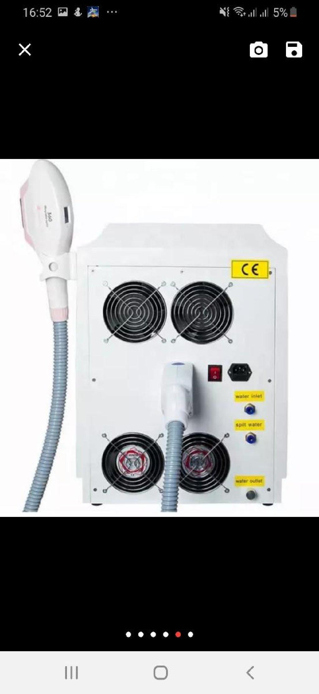 Tecili koc ile elaqedar olaraq 2 ci el portativ lazer epilyasiya aparati satilir