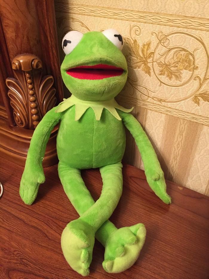 Kermit ilin brendı uzunluq olcusu 40sm qıymet 35manat. Photo 0