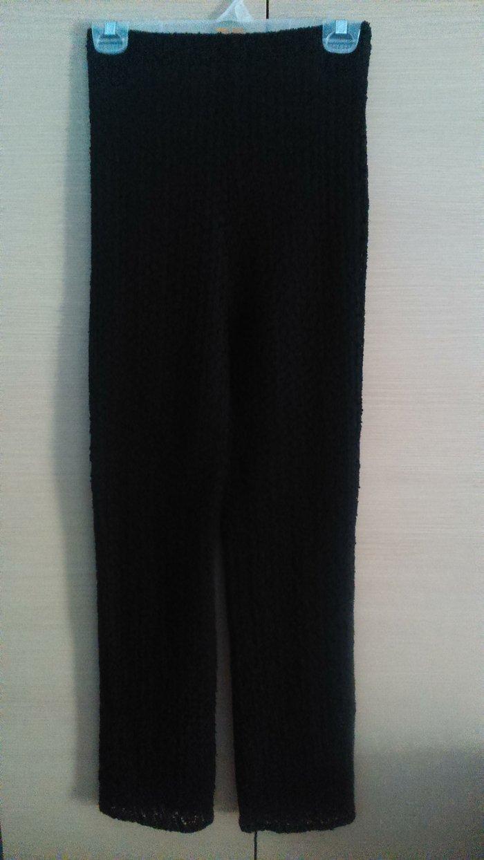 Μαύρο παντελόνι, όλο δαντέλα, αφόρετο, σε Δυτική Θεσσαλονίκη