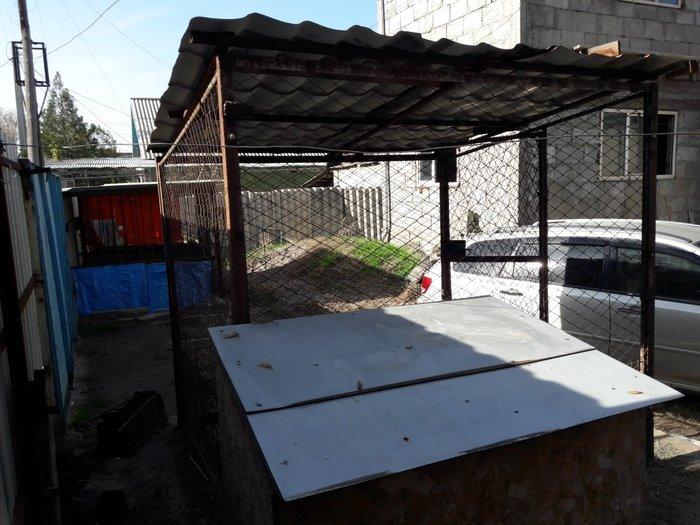 вальер с будкой для больших собак можно  алабая  в Бишкек
