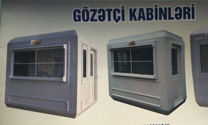 Bakı şəhərində Gözətçi kabinleri
