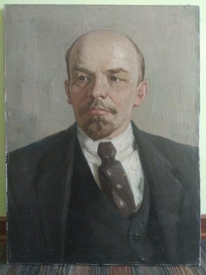 Портрет В. Ленина, старый привезён из Ташкента. в отличном исполнении в Лебединовка