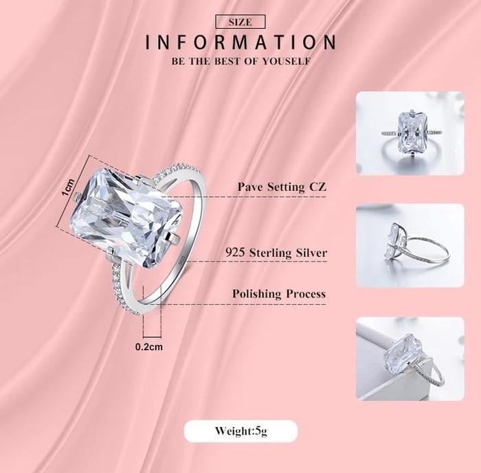 Yeni gümüş üzük. 925prob. Photo 1