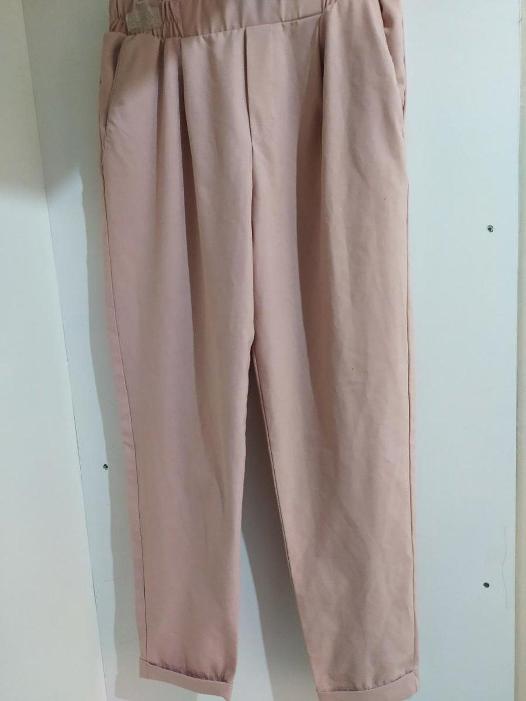 Ροζ jogger bershka Φορεμένο 1 φορά