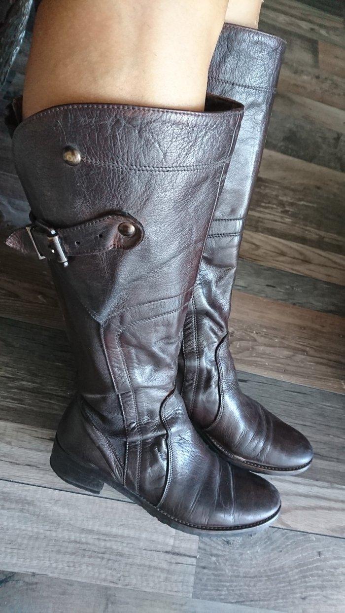 Μπότες 40 size 100 % δέρμα σε Σαλαμίνα