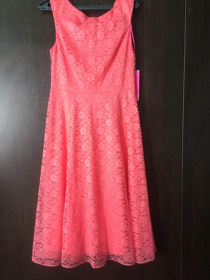 Новое платье гипюровое с Америки, размер М,  отличное платье.. Photo 0