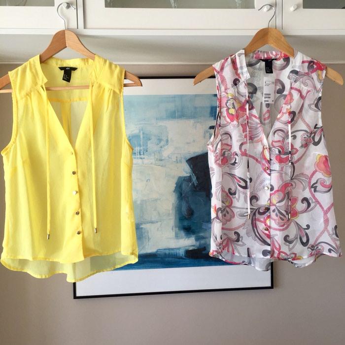 2 ολοκαίνουργιες αμάνικες πουκαμίσες. Photo 8