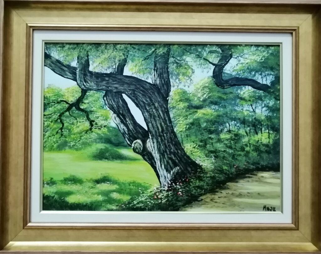Slike - Beograd: Autor slike Injac Aleksandar, ulje na platnu zategnuto na blind ram, dimenzija slike 35x25 cm plus ram kao na fotografiji