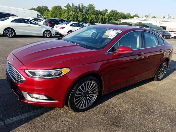 Ford Fusion 2018. Photo 0
