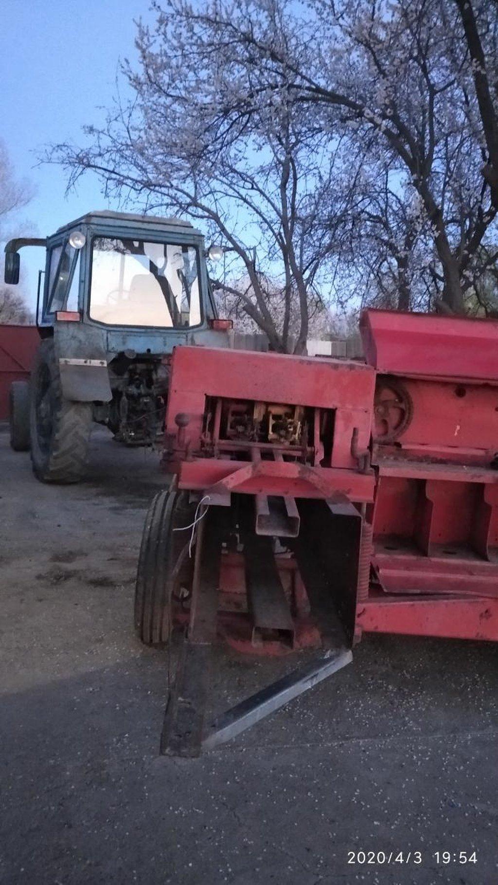 Трактор80 пресси менен абалы жакшы 12  мин доллар же портерге алмашам кошуп бересинер