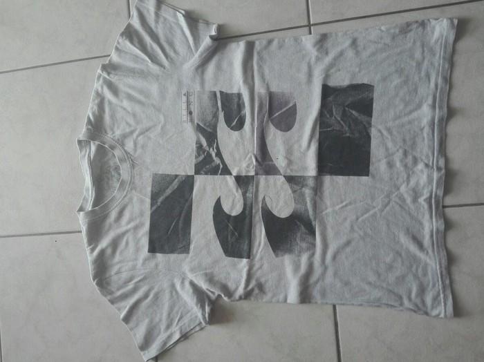 Μπλουζα με μωβ μαι μαυρα κύματα. Photo 0