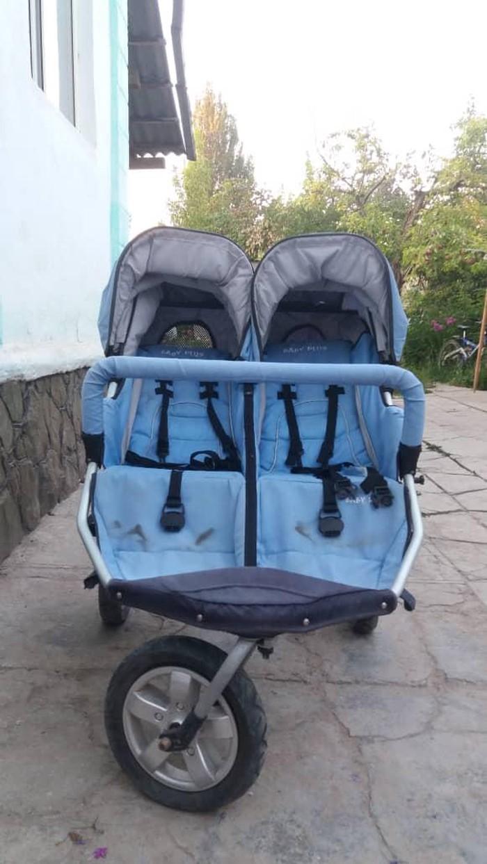 Продаю коляску для двойняшек, состояние отличное. покупала за 15000с . Photo 0