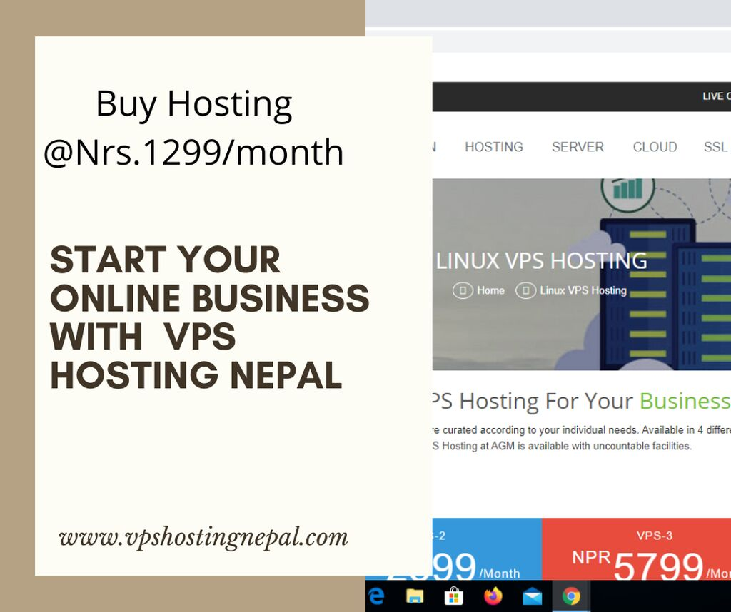 Start your online Business with VPS Hosting Nepal