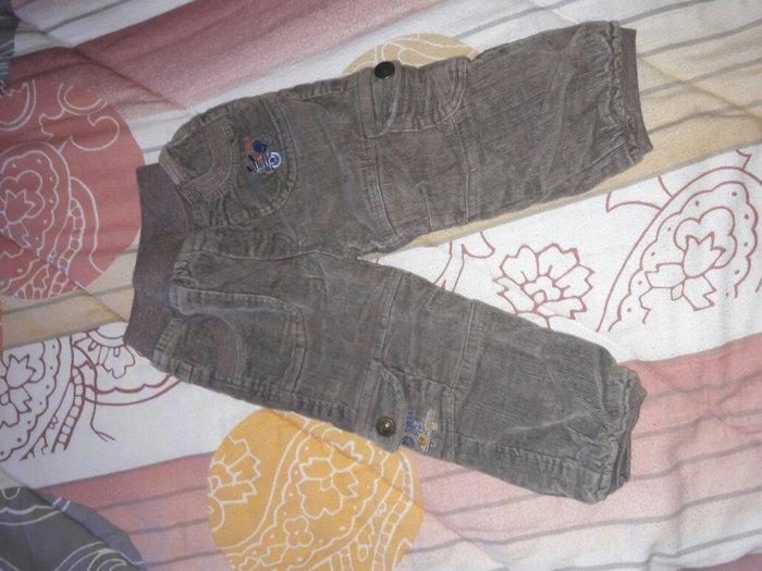 Nenosene bas mekane i termo somotske pantalone za decaka uzrasta od go - Leskovac