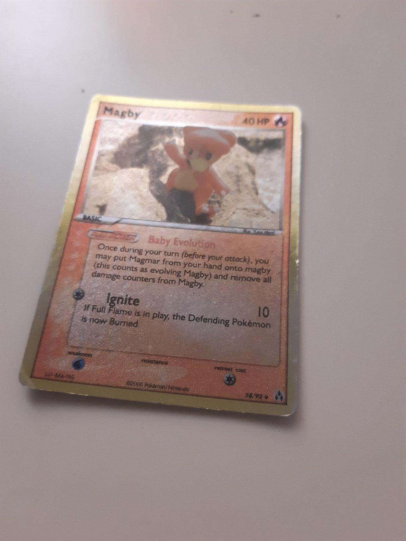 2006 Pokemon Magby EX Legend Maker  Gem Mint 58/92
