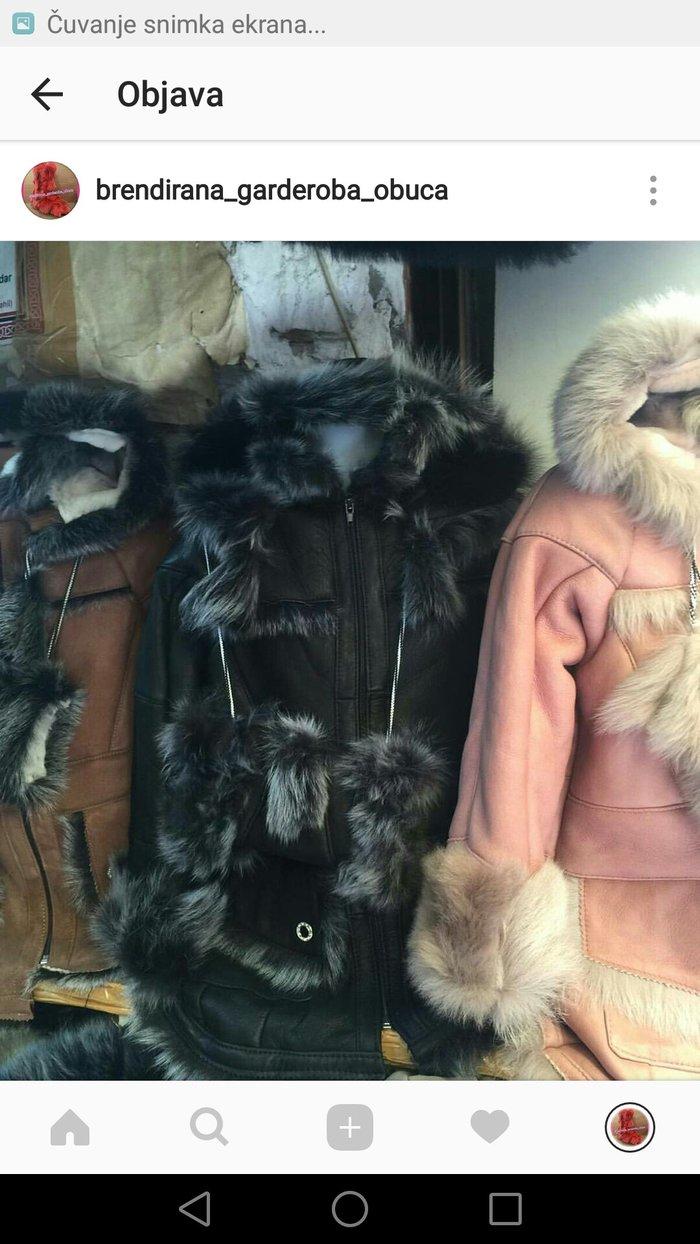 decije jaknice sa krznom dostupne u crnoj roze braon i bez boji - Pirot