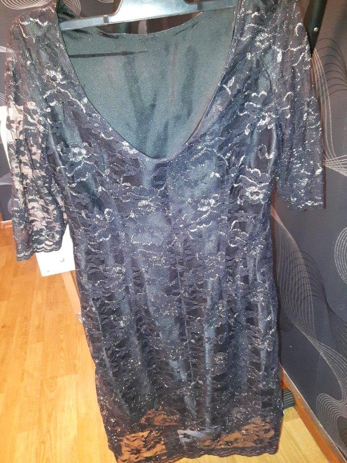 Bakı şəhərində Гюпюровое платье  до колен .размер М 5 ман