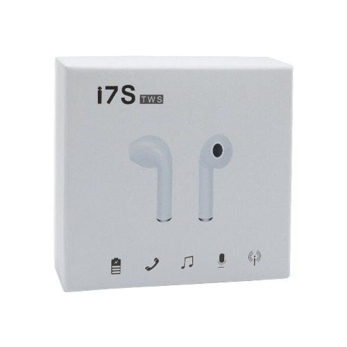 Bluetooth Slusalice I7S BT za Iphone 7/8/X bele sa punjacem