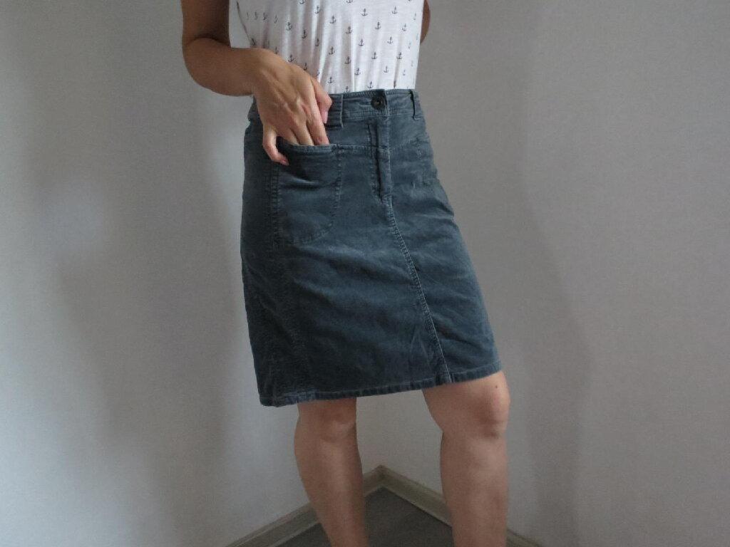 Plisana suknja CECIL
