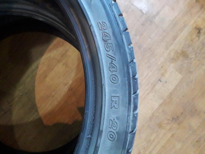 245.40R20 Michelin..super vezyetde..cutu 150 manat.. Photo 3