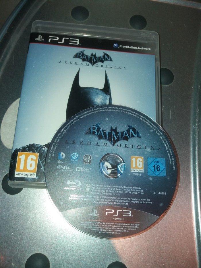 Batman ARKHAM ORIGINS PS3. Photo 0
