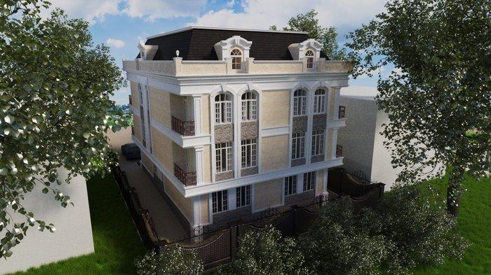 продажа квартив в строящемся 4-х этажном доме. г. кант по ул. советска в Бишкек
