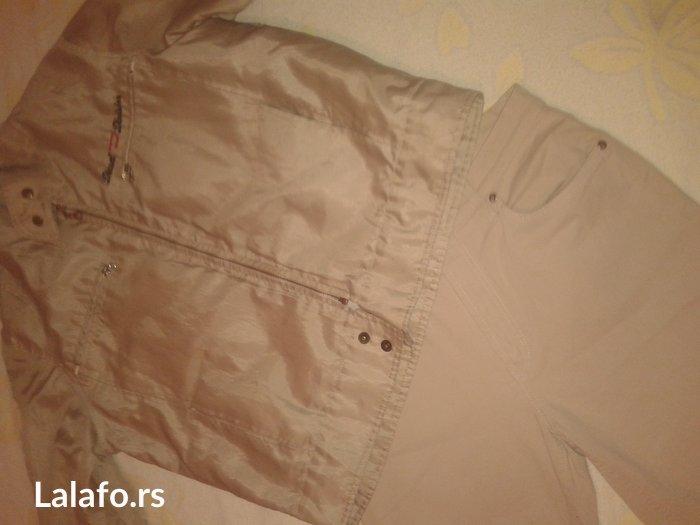 Muska jakna i pantalone. L velicina bez ostecenja. Bez boje. Cena za - Borca