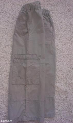 Decije pantalone vel. 134. Tanke, hladan pamuk, sa dzepovima sa strane - Beograd