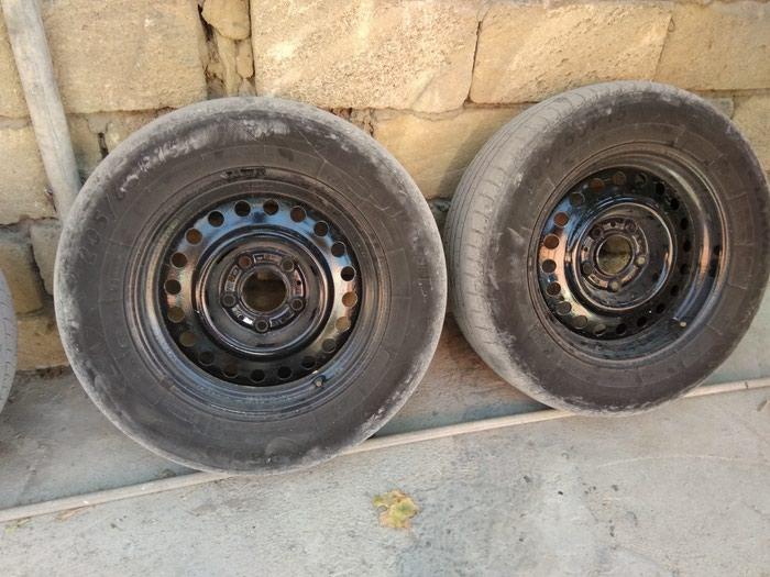 Bmw ucun sade diski teker R15. Photo 2