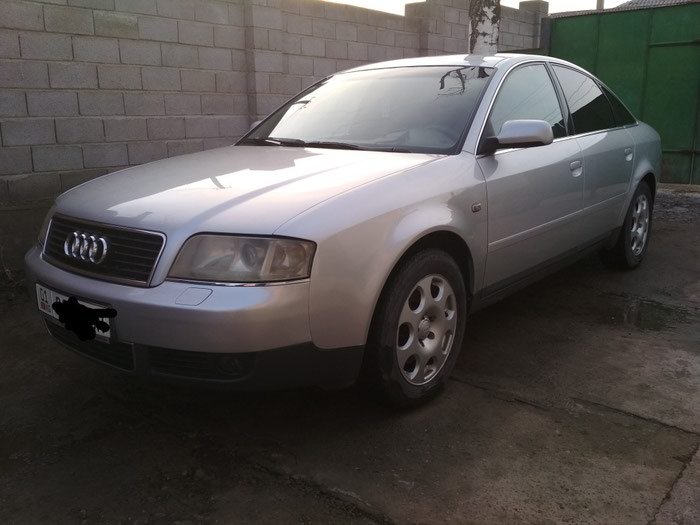 Audi A6 2002. Photo 0