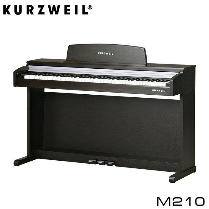 Пианино Kurzweil M210 – цифровое пианино с молоточковой механикой