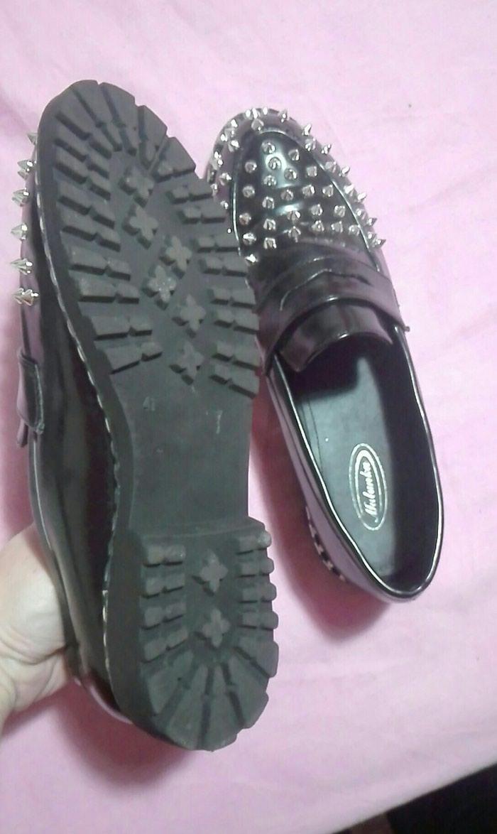 Loafers με καρφιά νούμερο 41 αφορετα. Photo 2