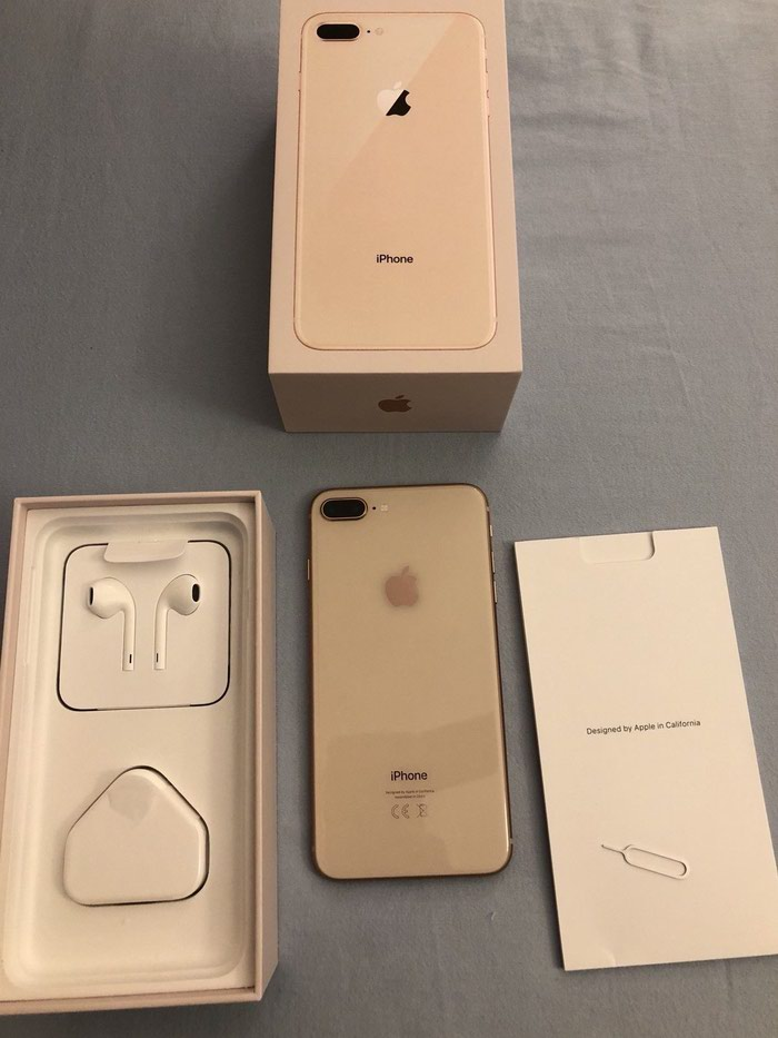 Apple iPhone 8 Plus - 256GB - Gold (Unlocked) A1897 (Gsm). Photo 1