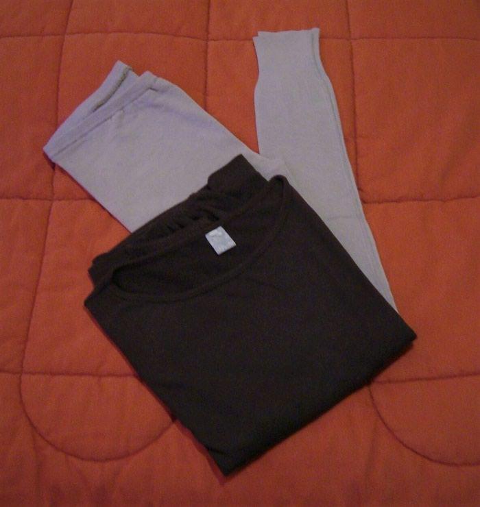 Κολάν και μπλούζα