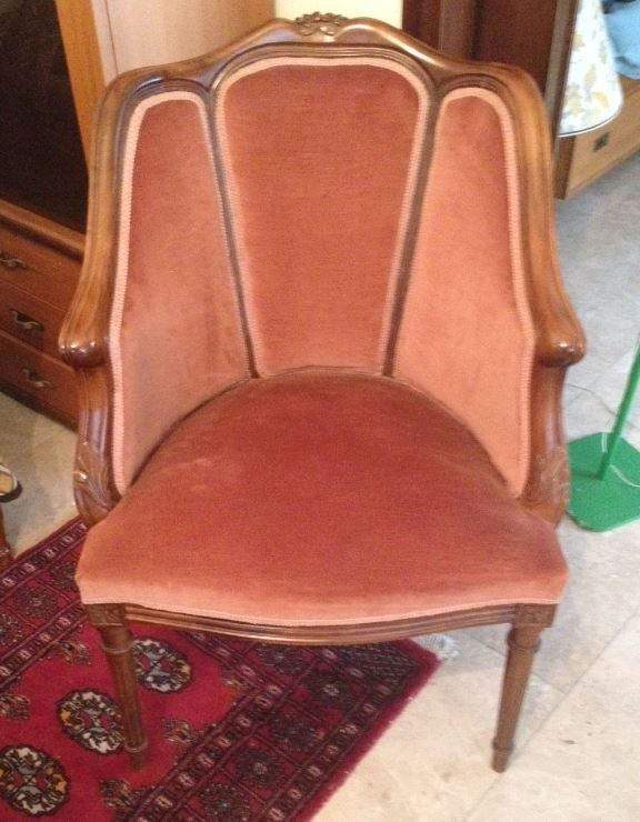 Vintage πολυθρόνα - πραγματικό στολίδι. Σε άριστη κατάσταση.. Photo 0
