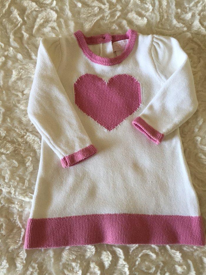 Knitted cotton dress 3-6 months.  σε Νέα Σμύρνη