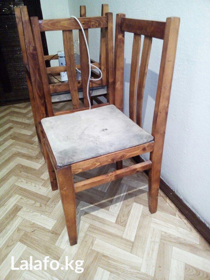 продаю стулья, чистое дерево, крепкие, импортные, 6 штук в Бишкек